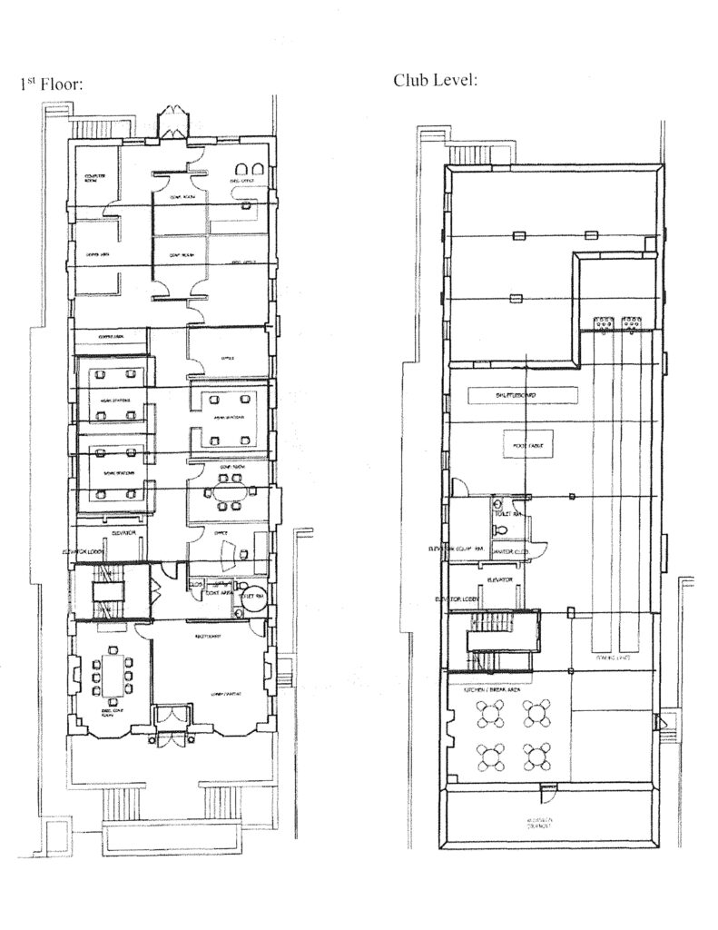 Emerald Realty Group: Class A Office Space for Lease at 520 N. New Street in Bethlehem, PA Floor Plan